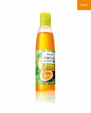 Nature Secrets Shower Gel with invigorating Ginseng & Passion fruit 250ml@ Rs.370.00