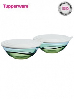 Tupperware Elegansia Bowl, 600ml, Set of 2 @ Rs1104.00