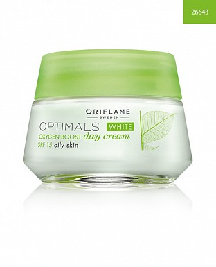 Optimals White Oxygen Boost Day Cream SPF 15 Oily Skin 50ml@ Rs.648.00