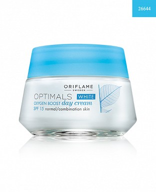Optimals White Oxygen Boost Day Cream SPF 15 Normal/Combination Skin 50ml @ Rs648.00