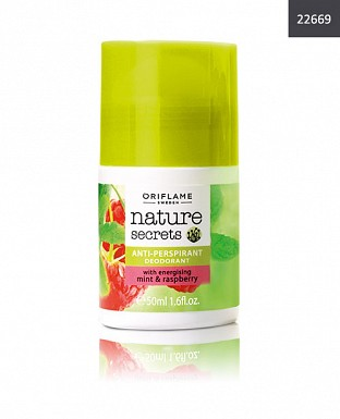Nature Secrets Exfoliating Shower Gel with Energising Mint & Raspberry@ Rs.175.00