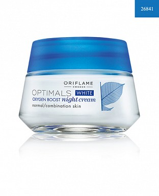 Optimals White Oxygen Boost Night Cream Normal/Combination Skin 50ml @ Rs617.00