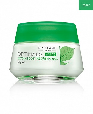Optimals White Oxygen Boost Night Cream Oily Skin 50ml @ Rs700.00