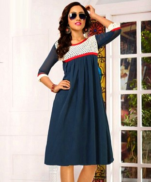 Stylish Georgette Kurti @ Rs926.00