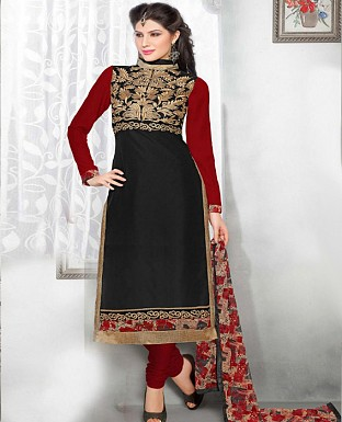 Latest multi Color Salwar Suit Buy Rs.1162.00