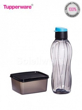 Tupperware Xtream set consists of 750ml bottle & Keep Tab 500 ml @ Rs394.00