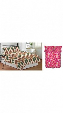Bombay Dyeing 2 Double Bedsheet with 4 pillow cover (Size-Double) @ Rs1750.00