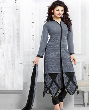 Latest multi Color Salwar Suit Buy Rs.1235.00