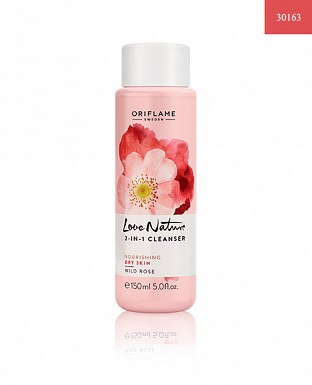 Love Nature 2-in-1 Cleanser Wild Rose 150ml@ Rs.339.00