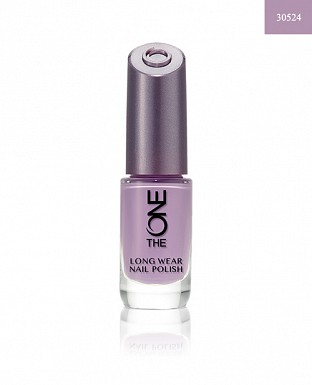 The ONE Long Wear Nail Polish - Lilac Silk 8ml@ Rs.308.00