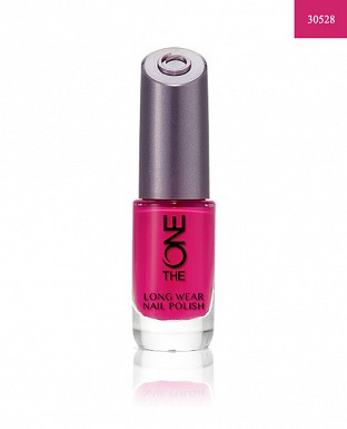 The ONE Long Wear Nail Polish - Fuchsia Allure 8ml @ Rs308.00