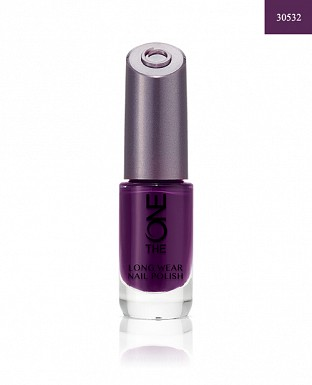 The ONE Long Wear Nail Polish - Purple in Paris 8ml @ Rs308.00
