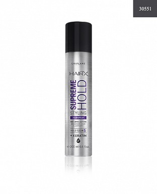 HairX Supreme Hold Styling Hairspray 200ml @ Rs417.00