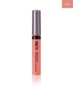 The ONE Colour Unlimited Lip Gloss - True Blush 5ml@ Rs.418.00