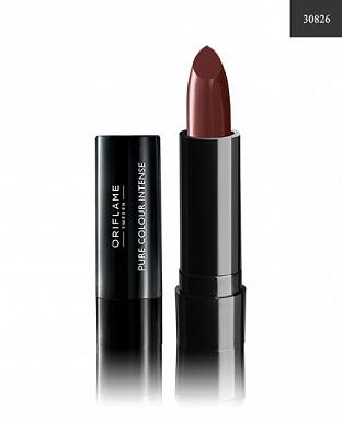 Oriflame Pure Colour Intense Lipstick Cocoa Brown 2.5gm@ Rs.185.00