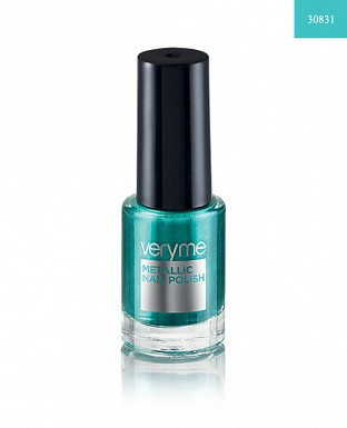 Very Me Metallic Nail Polish - Aqua Green 6ml @ Rs175.00