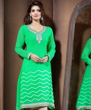 Stylish Georgette Kurti @ Rs876.00