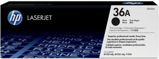 HP 36A Black LaserJet Toner Cartridge @ Rs4450.00
