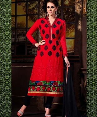 Latest Designers Semi Stitched Salwar Suits@ Rs.2059.00