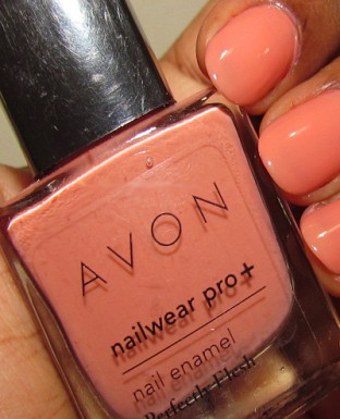 Avon Nailwear Pro + Nail Enamel - Perfectly Flesh 8ml -19527@ Rs.186.00
