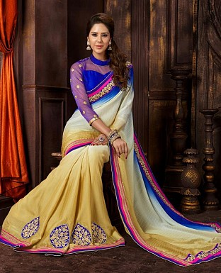 SILK LINING SAREE @ Rs2658.00