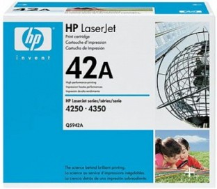 HP 42A Black LaserJet Toner Cartridge@ Rs.12237.00