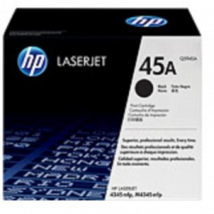 HP 45A Black LaserJet Toner Cartridge@ Rs.16439.00