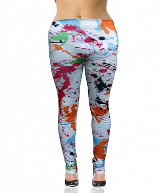 Stretchable lycra  Leggings@ Rs.360.00