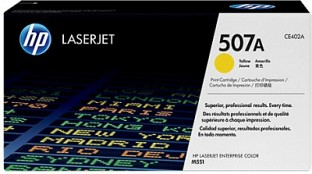 HP 507A Yellow LaserJet Toner Cartridge @ Rs14091.00