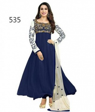 Lady Fashion Villa blue designer salwar suit @ Rs927.00