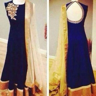 anarkali blue @ Rs988.00