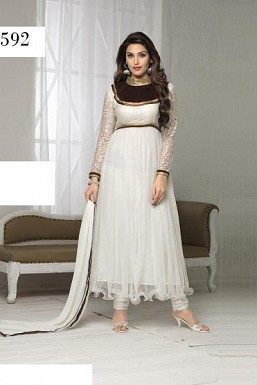 SURILI WHITE NET @ Rs988.00