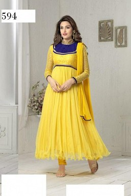 SURILI YELLOW NET @ Rs988.00