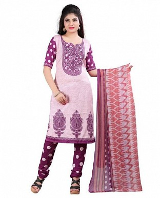 Multicolor Crepe Printed Dress Materials@ Rs.370.00