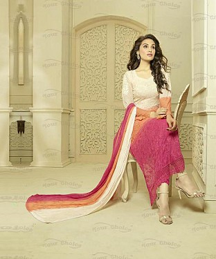 MULTY CHIFFON STRAIGHT SUIT @ Rs1606.00