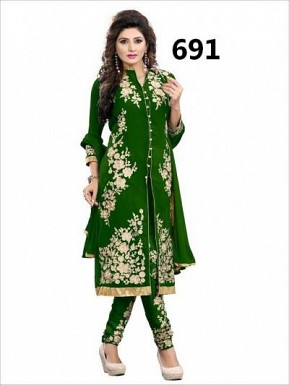 CHAIN STICH GREEN @ Rs926.00