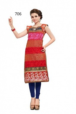 JACQUELINE RED 507 @ Rs1359.00