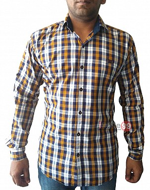Men Slim Fit Casual Shirt @ Rs566.00