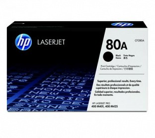 HP 80A Black  Toner Cartridge@ Rs.6879.00