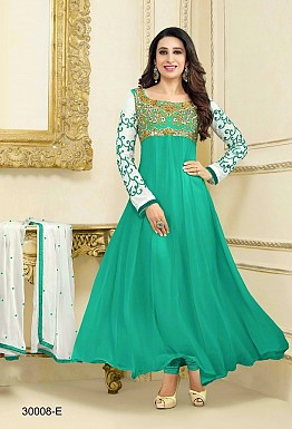 Stylis Sky Designe Anarkali Salwar Suits @ Rs1018.00