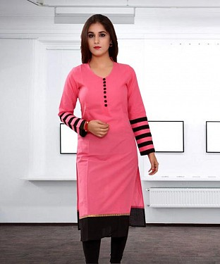 Latest Designer Fashion According Cotton Kurti Buy Online @ Rs432.00