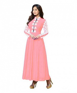 Lady Fashion Villa cream designer salwar suit @ Rs1059.00