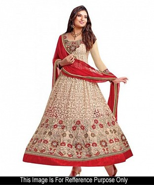 Lady Fashion Villa cream designer salwar suit @ Rs989.00