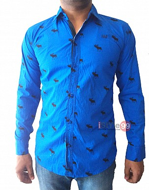 Men Slim Fit Casual Shirt @ Rs463.00