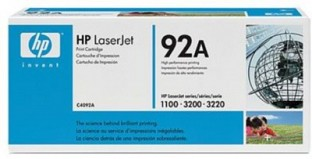 HP 92A Black LaserJet Toner Cartridge@ Rs.5429.00