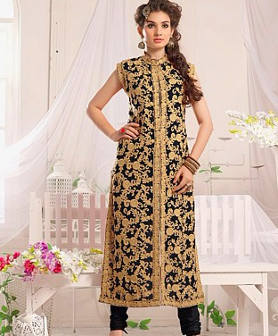 Indo Western Designer Dress @ Rs1854.00