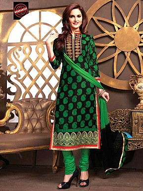 Cotton Salwar Suit with Dupatta @ Rs399.00
