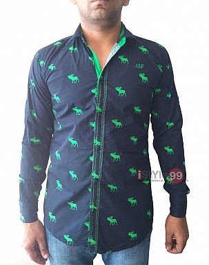 Men Slim Fit Casual Shirt@ Rs.453.00