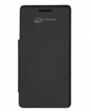 Flip Covers For Micromax Bolt A069 - Black @ Rs102.00