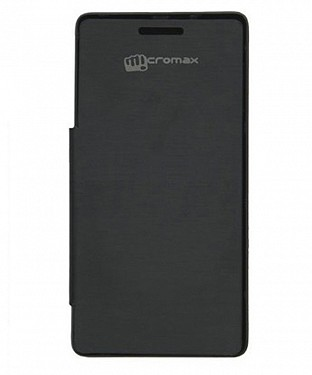 Flip Cover For Micromax Canvas Entice A105 @ Rs123.00